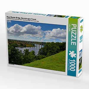 Royal Border Bridge als Puzzle